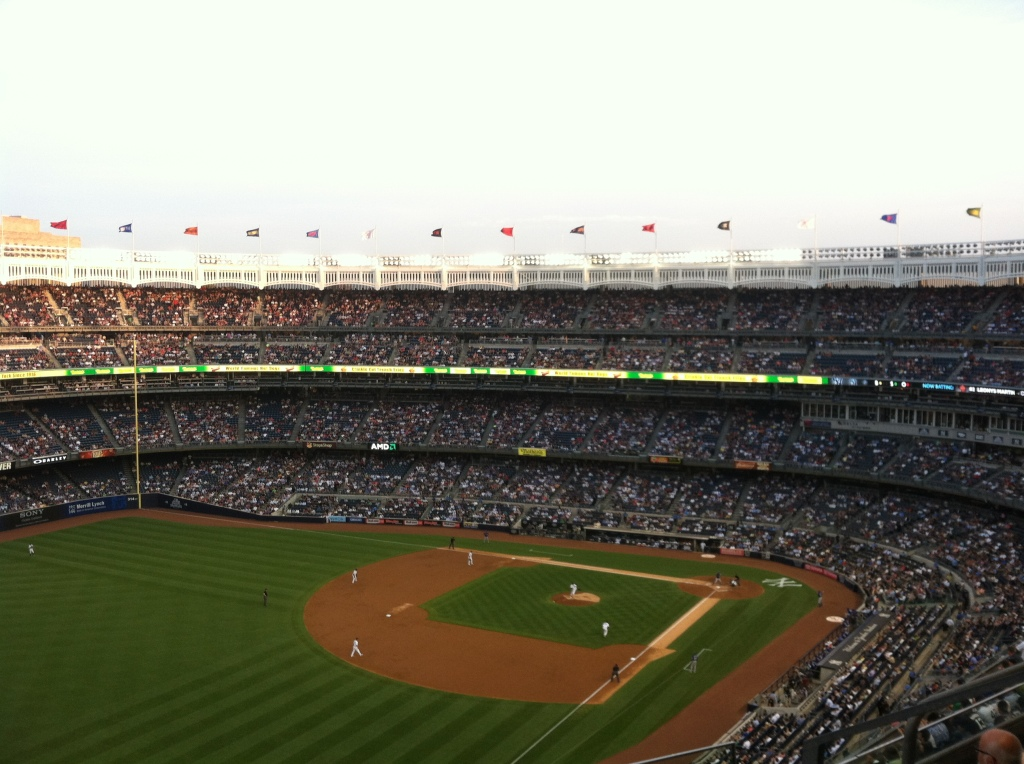 Rangers @ Yankees, 6/27/13