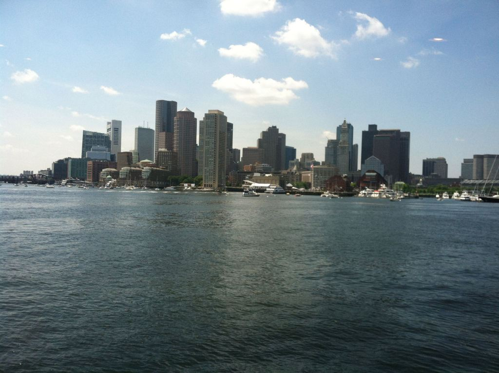 A view of Boston, July 2013