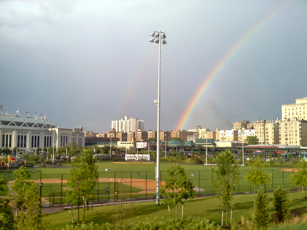 Rainbow in the Bronx, June 2012
