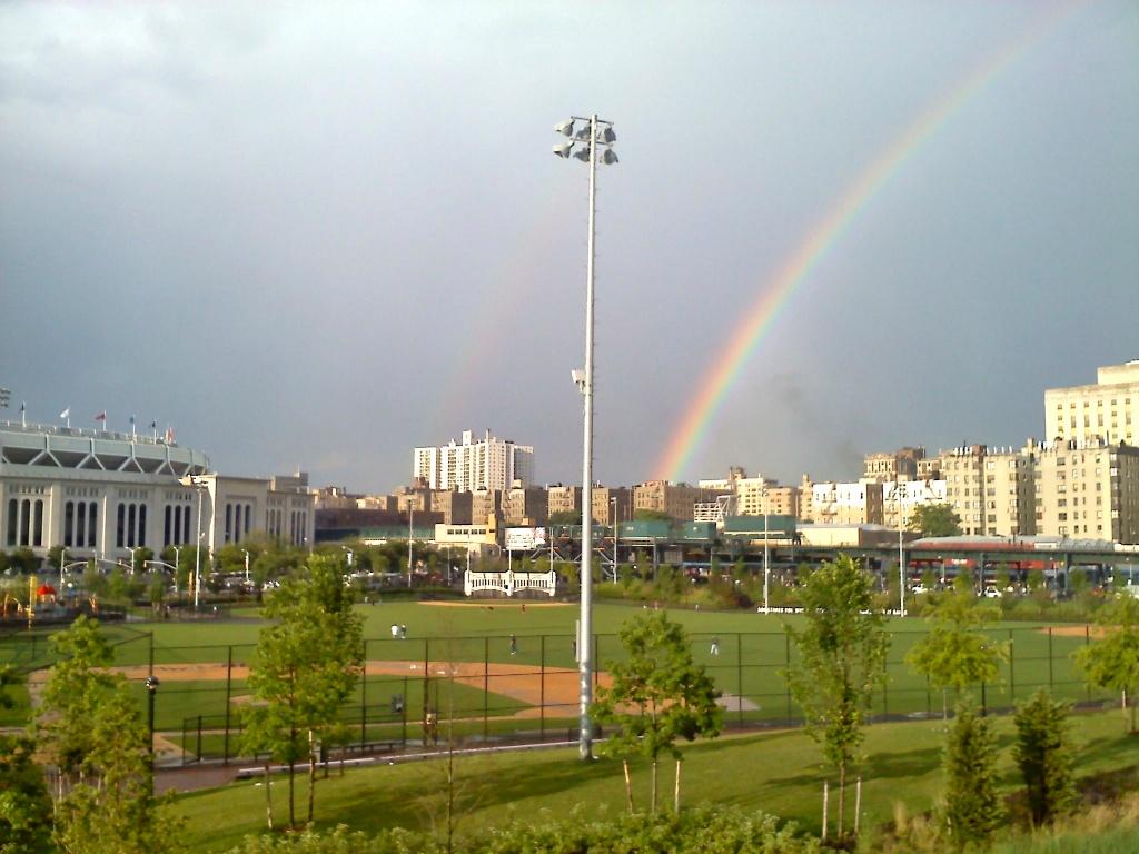 Rainbow in the Bronx, June 2012