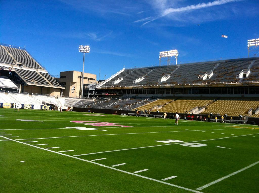 Bobby Dodd Stadium @ Georgia Tech, October 2012
