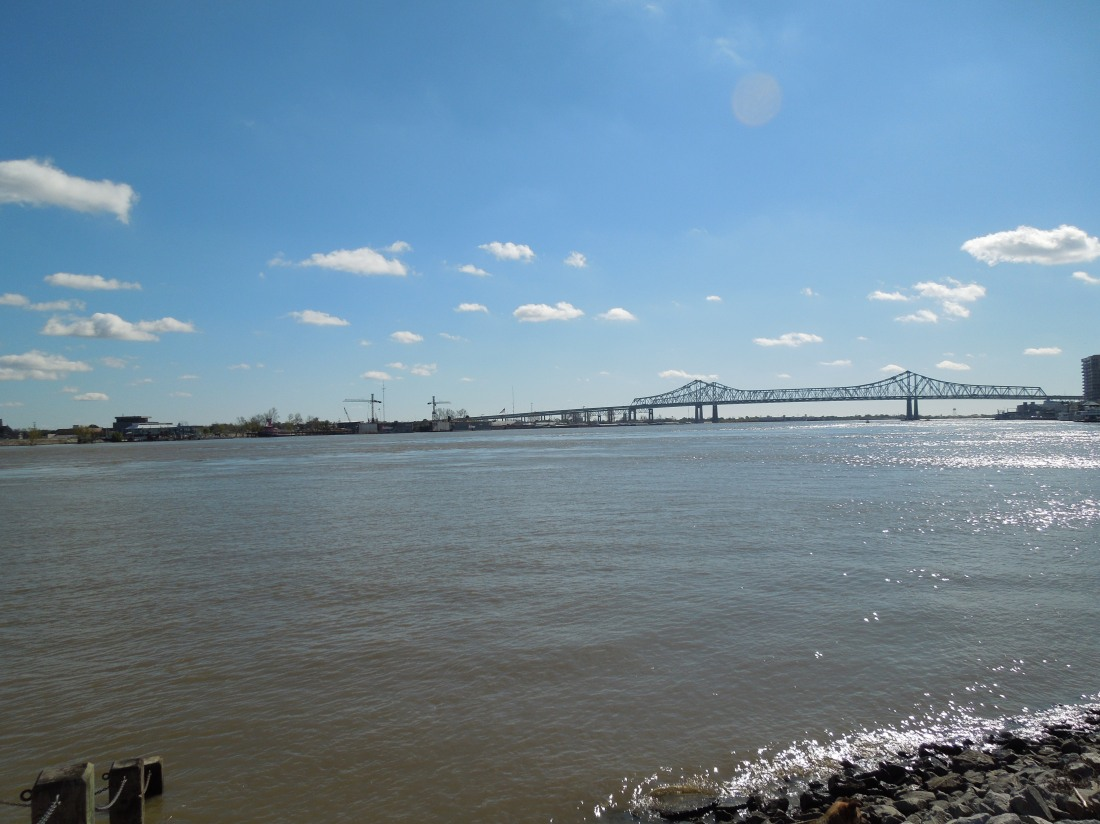 Mississippi River, New Orleans, January 2012